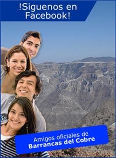 facebook Barrancas del Cobre